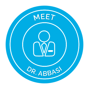 Meet Dr. Abbasi Button Top Nova Orthodontics Potomac Falls Ashburn VA